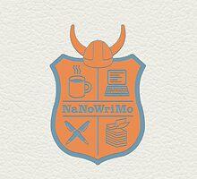 NaNoWriMo Badge by Jeffrey West