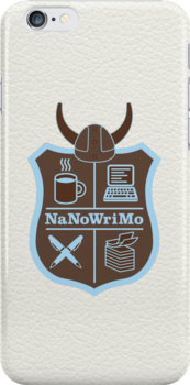NaNoWriMo Badge - Brown by Jeffrey West