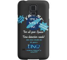 Timey-Wimey Inc Samsung Galaxy Case/Skin