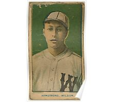 Benjamin K Edwards Collection Armstrong Wilson Team baseball card portrait Poster