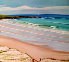 Pippi Beach Yamba by LynFord