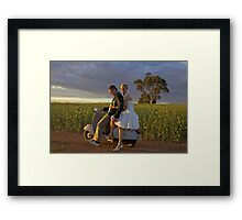 True Romance II Framed Print