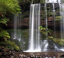 Russell Falls by John Dekker