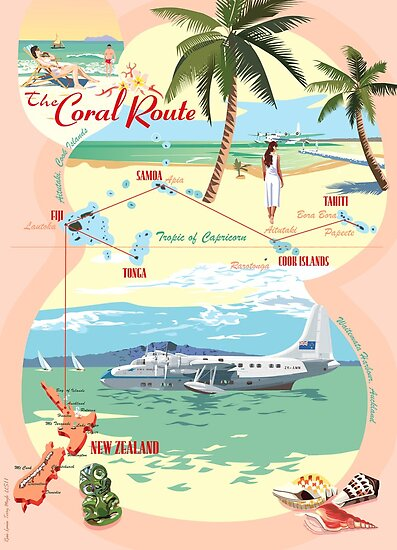 The Coral Route -  by contourcreative