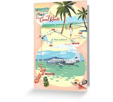 The Coral Route -  Greeting Card