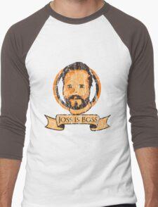 Joss Is Boss Men's Baseball ¾ T-Shirt