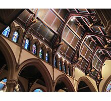Ceiling of St. Paul's Cathedral in Buffalo Photographic Print