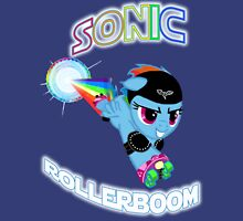 Sonic Rollerboom Womens Fitted T-Shirt