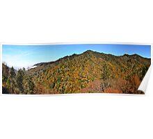 Smoky Mountain Panorama Poster