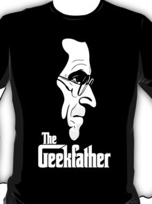 The Geekfather (White Print) T-Shirt