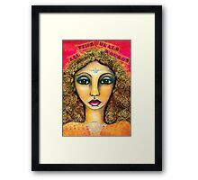 Time Heals All Wounds Framed Print