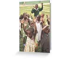 Singing and Praising Greeting Card