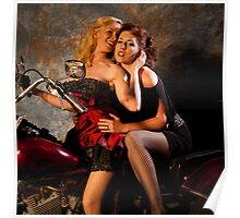 Bikes and Babes Poster