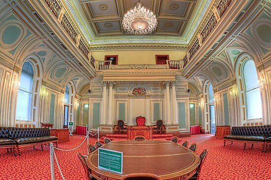 Queensland Parliament • Brisbane • Australia by William Bullimore