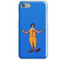 Ronald McDeath iPhone Case/Skin