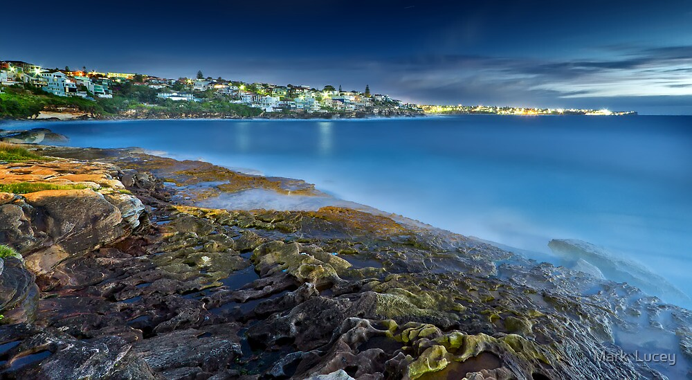 A New Day - Lurline Bay, Sydney by Mark  Lucey
