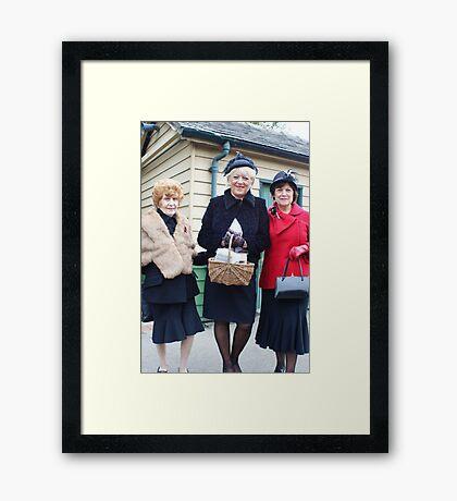 The Pickering War Weekend 2011 42 Framed Print