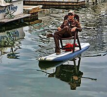 Kickback Paddle Boarding by CarolM