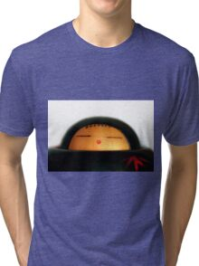 Japanese Doll Tri-blend T-Shirt