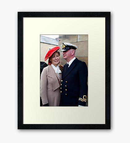 The Pickering War Weekend 2011 49 Framed Print