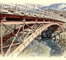 Iron Bridge, Ohau River by Phoxford