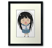 Chibi Chitanda Eru Framed Print