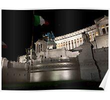 Monument to Vittorio Emanuele Poster