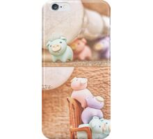 how many piggies dose it take to screw in a light bulb? iPhone Case/Skin