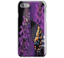 Eastern Black Butterfly iPhone Case/Skin
