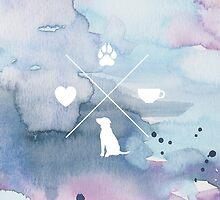Coffee Shop Dogs by Jenna Fullerton