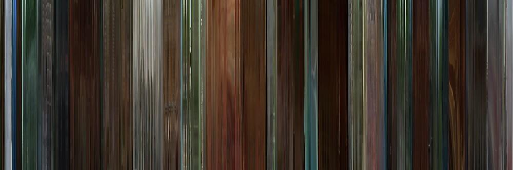 Moviebarcode: Garden State (2004) by moviebarcode