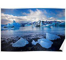 Glacier Lagoon Jökulsarlon Poster