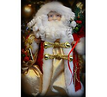 Ho Ho Ho, Merry Christmas Photographic Print