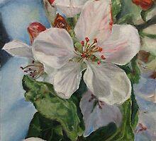 Apple Blossom by Olga Gorbacheva