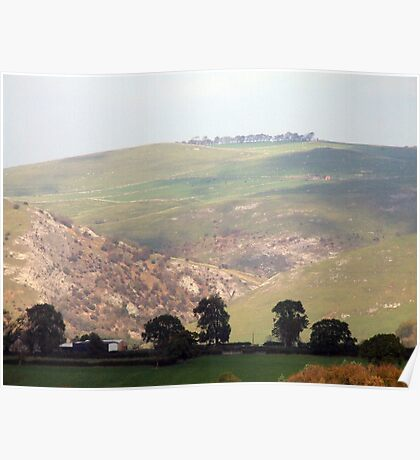 Dovedale Valley Poster