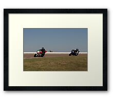 Ducati and Buell Framed Print