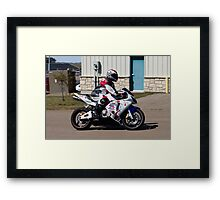 Graffiti Honda Framed Print