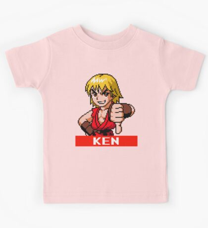 Ken Masters - Street Fighter Sprite Kids Tee
