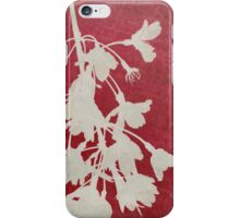 Weeping Cherry in Red - iphone case iPhone Case/Skin