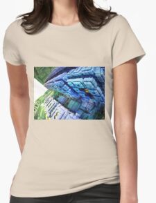 Runway - Abstract Fractal Womens Fitted T-Shirt
