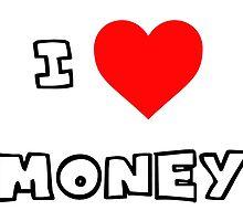 I Heart Money by PingusTees