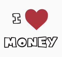 I Heart Money Kids Tee