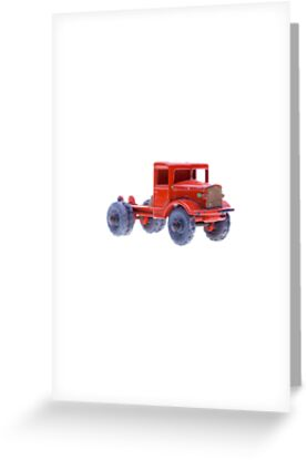Red Truck by Benjamin Liew