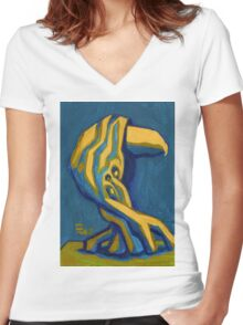Avian Women's Fitted V-Neck T-Shirt