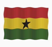 Ghana Flag One Piece - Short Sleeve
