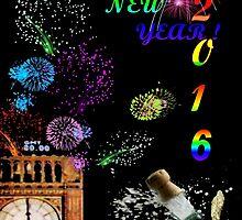 Happy New Year 2016 by missmoneypenny