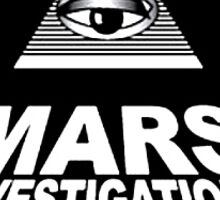 Mars Investigations Sticker