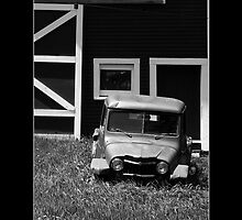 LAWN ORNAMENT, SOUTH WOODSTOCK VT. by PhotoIMAGINED
