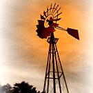 farmer's windmill by bangonthedrums