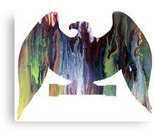 Eagle posing Canvas Print